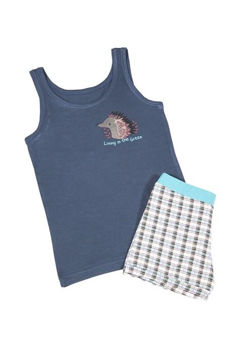 Пижама для мальчика с шортами - фото 4918