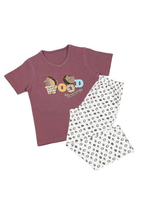 Пижама для мальчика с брюками - фото 4920