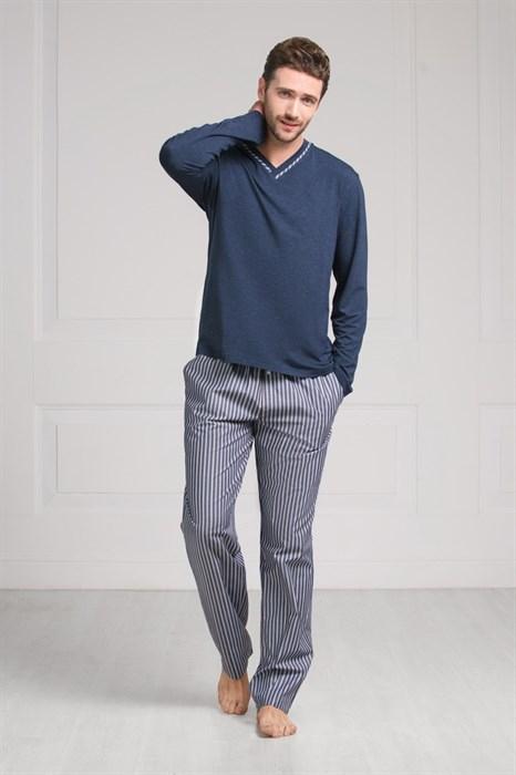Пижама мужская теплая - фото 5304
