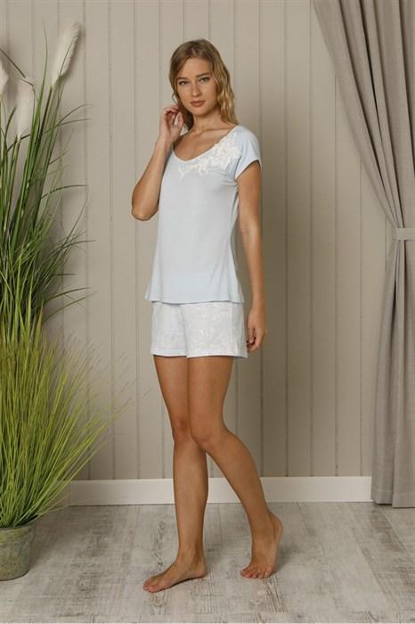 Оригинальная нежная пижама - фото 5534