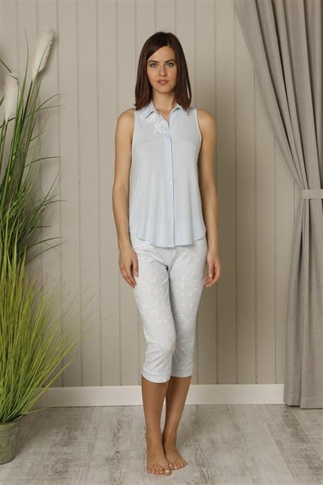 Нежная женская пижама - фото 5721