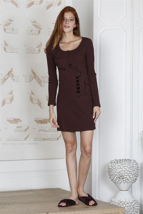 Теплое домашнее платье - фото 6411