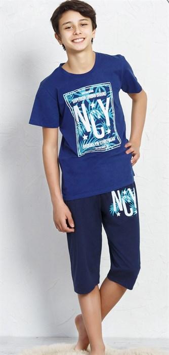 Пижама для подростка с капри - фото 6696