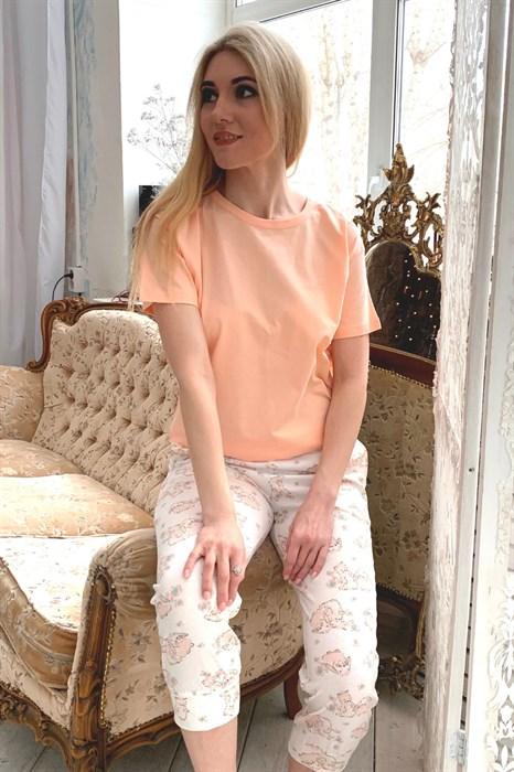 Розовая женская пижама - фото 7324