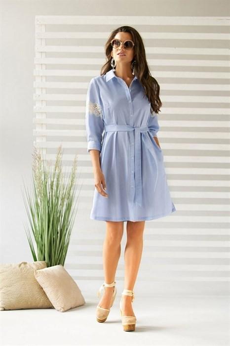Платье летнее на пуговицах - фото 7560