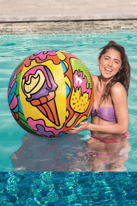 Надувной мяч для пляжа - фото 7856