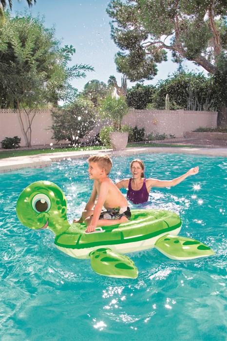 Надувная Черепаха для плавания - фото 7883