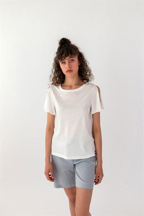 Нежная хлопковая пижама для женщин - фото 7894