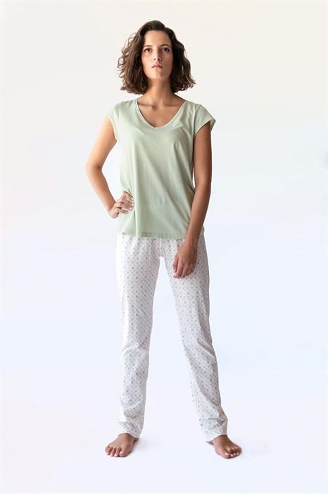 Пижама из чистого хлопка - фото 7917