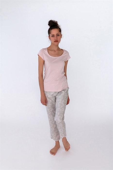 Женская пижама из вискозы - фото 7919