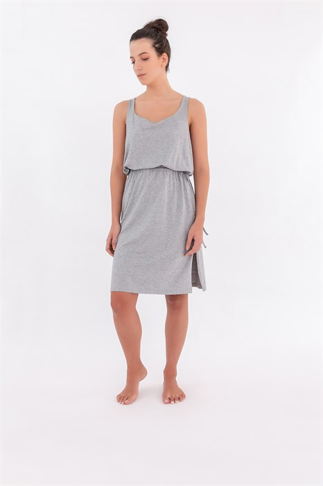 Длинное домашнее платье - фото 7955
