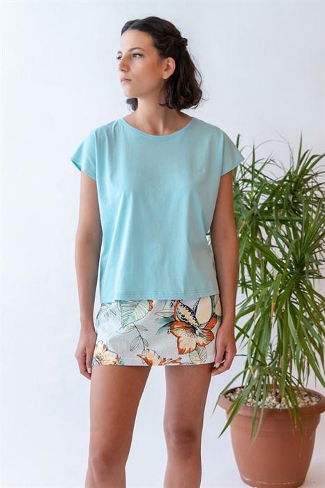 Пижама с юбкой - фото 7959