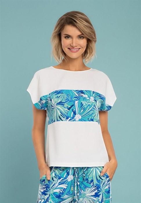 Женская летняя блуза - фото 8003