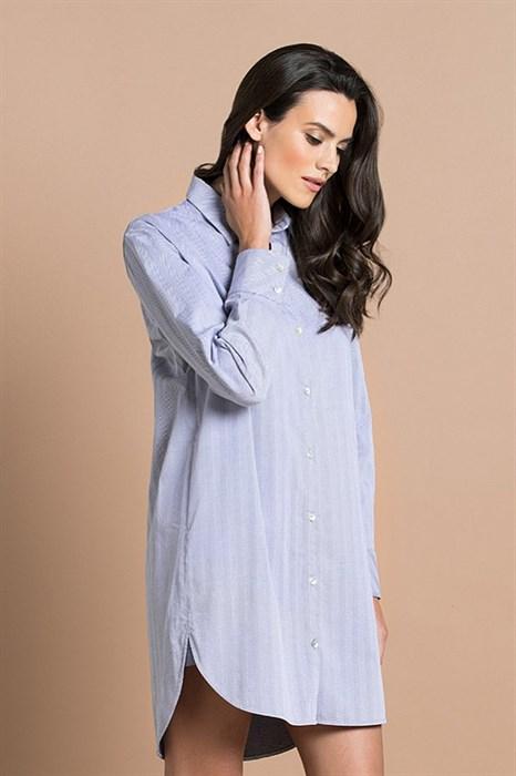 Сорочка-рубашка из хлопка - фото 8305
