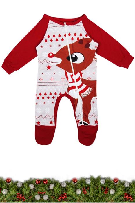 Семейные новогодние пижамы (младенец) - фото 8480
