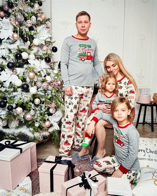 Новогодняя мужская пижама - фото 8520