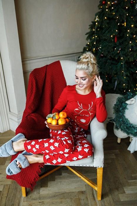 Пижама с Новогодней символикой - фото 8589