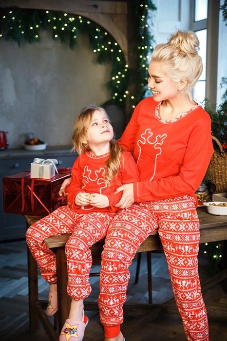 Детская пижама с оленем - фото 8593