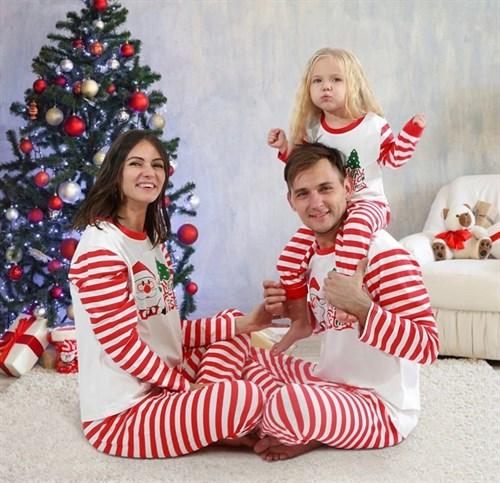 Рождественская детская пижама - фото 8758