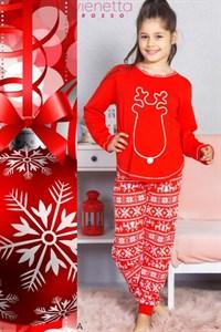 Детская пижама с оленем