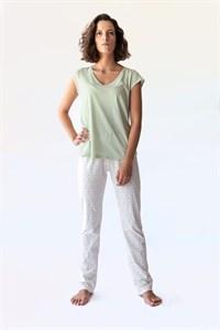 Пижама из чистого хлопка