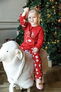 Пижама Новогодняя для детей