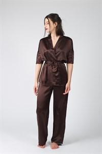 Классическая атласная пижама