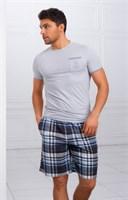 Домашний комплект с шортами - фото 4839