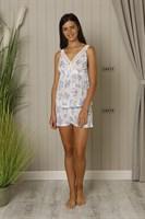 Легкая пижама из вискозы - фото 5504