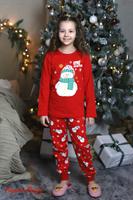 Новогодняя детская пижама - фото 6066