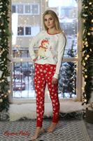 Пижама с Новогодним принтом - фото 6070