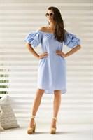 Платье летнее с рукавами-воланами - фото 7396