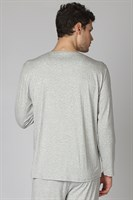 Мужская пижама на пуговицах - фото 8319
