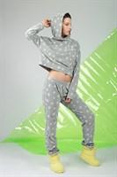 Домашний костюм с брюками - фото 8359