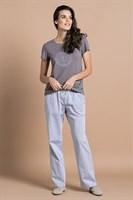 Женский домашний комплект с брюками - фото 8388