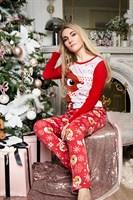 Семейные новогодние пижамы (мама) - фото 8498