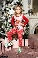 Семейные новогодние пижамы (ребенок) - фото 8504