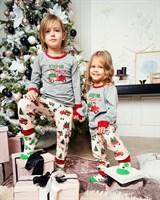 Новогодняя пижама для мальчика - фото 8526
