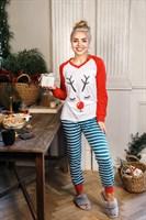 Рождественский женский костюм - фото 8575