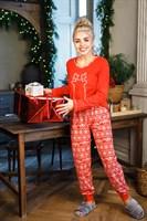 Женская пижама с оленем - фото 8596