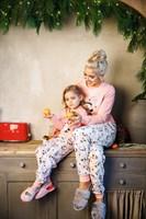 Семейная детская пижама - фото 8604