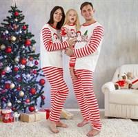 Рождественская женская пижама - фото 8744